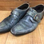 紳士靴の踵修理